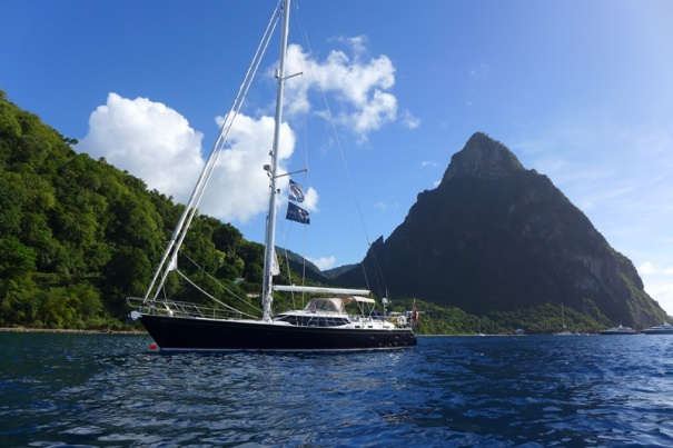 Shekina at ancor between the Pitons St Lucia